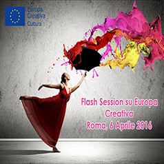 EUROPA CREATIVA: FLASH INFO SESSION