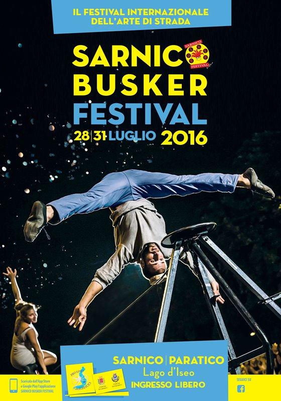 Seminario al Sarnico Buskers Festival
