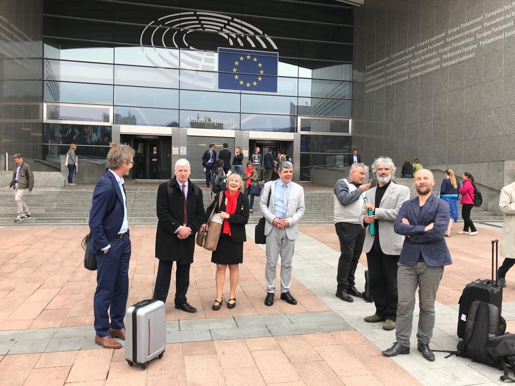 l'ANAP a Bruxelles